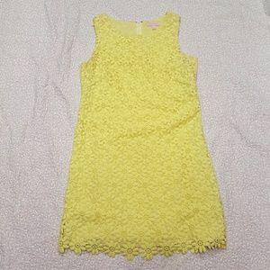 Lille Pulitzer yellow cotton dress 8